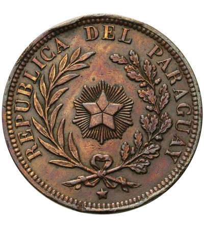 Paragwaj 4 centesimos 1870
