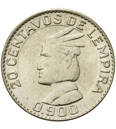 Honduras 20 centavos 1958