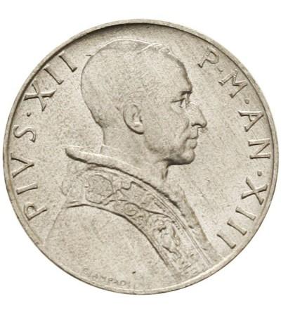 Watykan 5 lire 1951, Pius XII