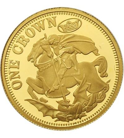 Tristan da Cunha 1 korona 2013, Św. Jerzy
