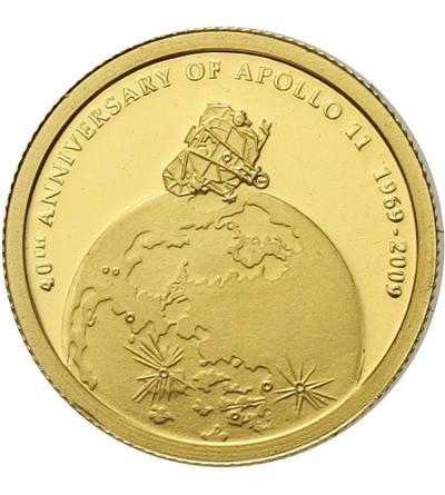 Wyspy Cooka 10 dolarów 2009, Apollo 11