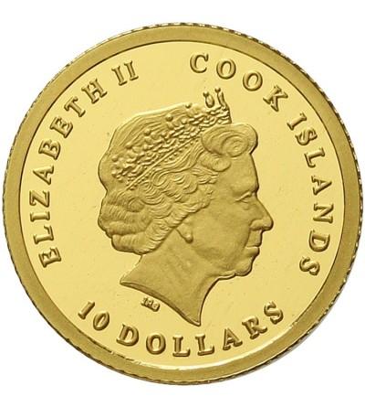 Wyspy Cooka 10 dolarów 2013, Bocian