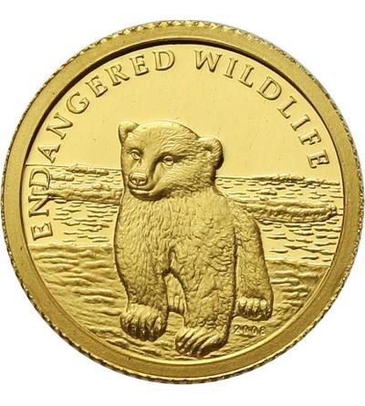 Wyspy Cooka 10 dollarów 2008, Niedźwiedź Polarny