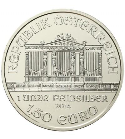 Austria 1,50 euro 2014, Philharmonic