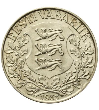 Estonia 1 korona 1933, lira