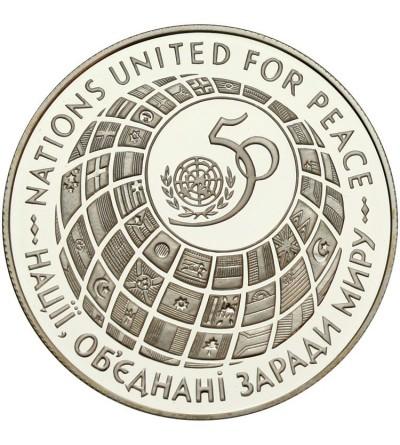 Ukraina 2000000 karbowańców 1995, 50 lat ONZ