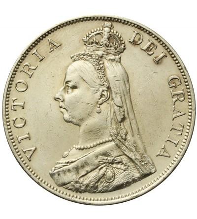 Wielka Brytania 2 floreny 1887
