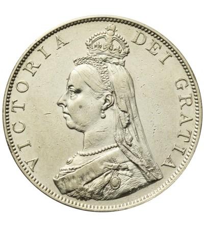 Wielka Brytania 2 floreny 1887. Rzymska 1