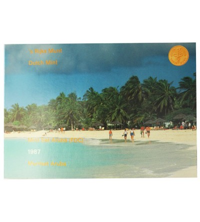 Aruba Mint Set 1987