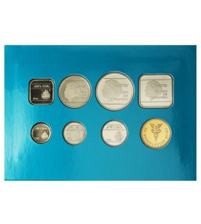 Aruba Zestaw menniczy monet 1996