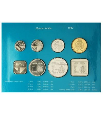 Aruba Zestaw menniczy monet 1997