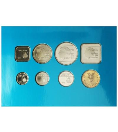 Aruba Zestaw menniczy monet 1998