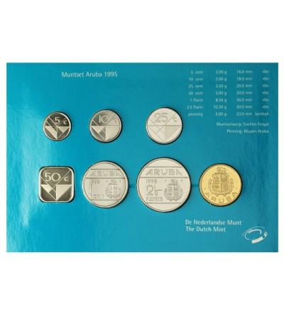 Aruba Zestaw menniczy monet 1995