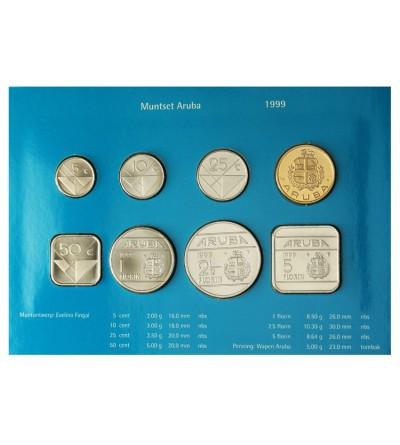 Aruba Zestaw menniczy monet 1999