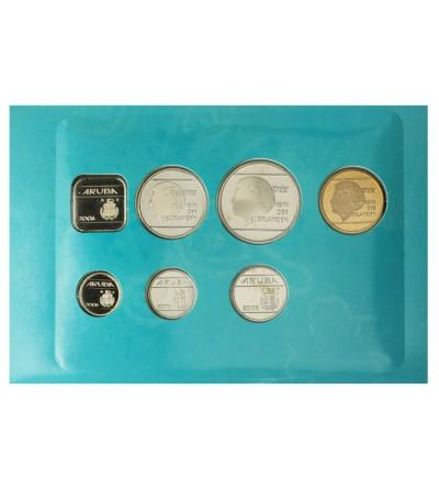 Aruba 2006 Zestaw rocznikowy monet.