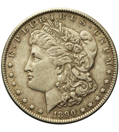 USA Morgan Dolar 1890 Filadelfia