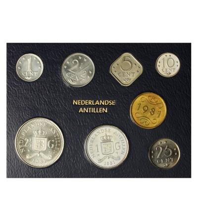 Antyle Holenderskie 1981. Zestaw menniczy