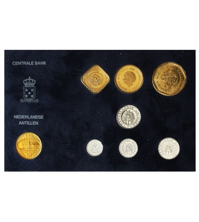 Netherlands Antilles Mint Set 1990