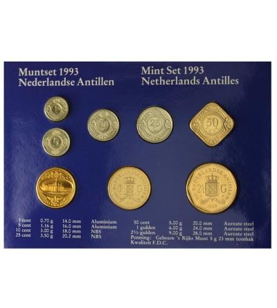 Antyle Holenderskie 1993. Zestaw menniczy