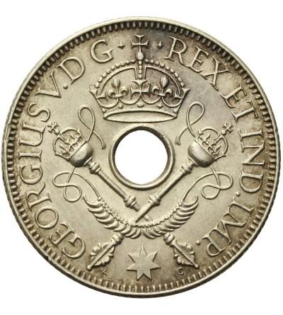 Nowa Gwinea 1 szyling 1935, Jerzy V