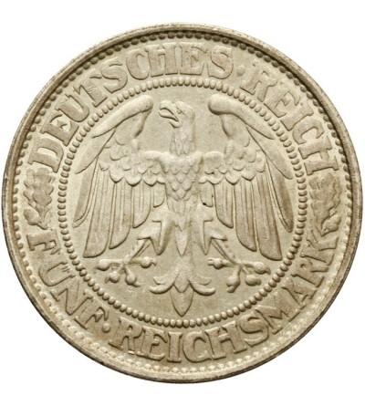 Weimar 5 marek 1932 D