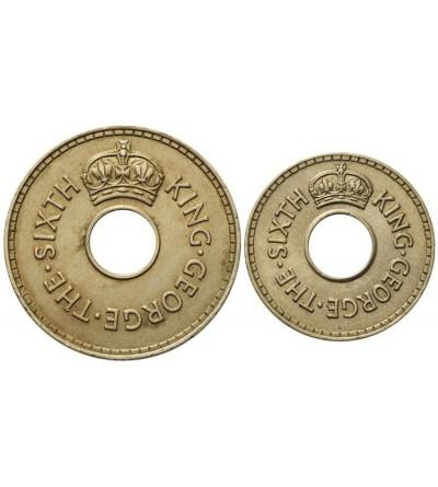 Fiji 1/2, 1 Penny 1952