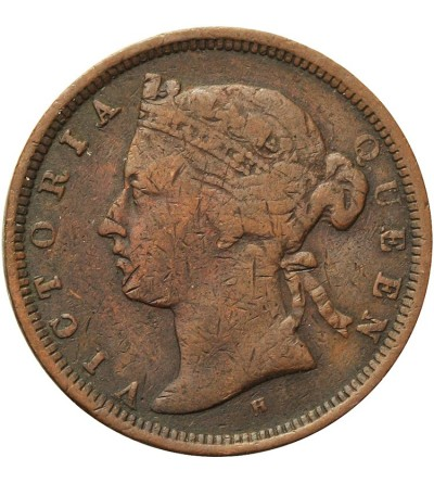 Straits Settlements 1/2 Cent 1872 H