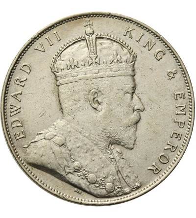 Straits Settlements Dollar 1908