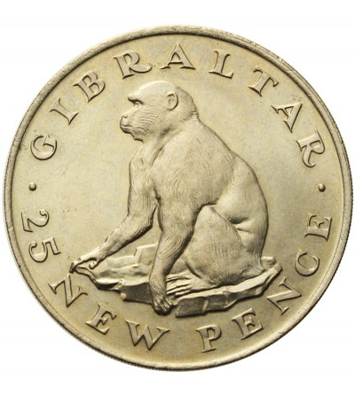 Gibraltar 25 pensów 1971