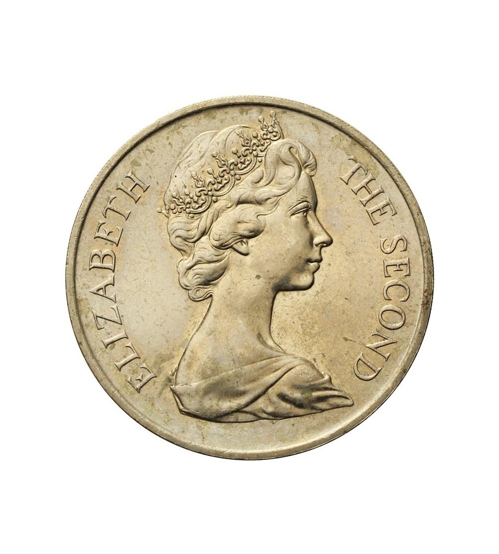 Wyspa Man 1 korona 1970