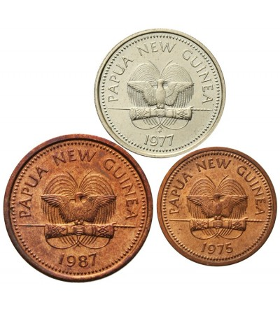 Papua Nowa Gwinea 1, 2, 5 toea 1975 - 1987