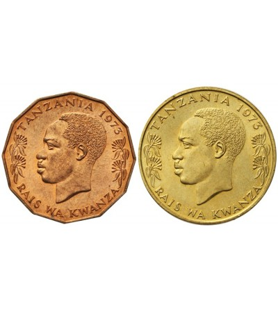 Tanzania 5 i 20 senti 1973