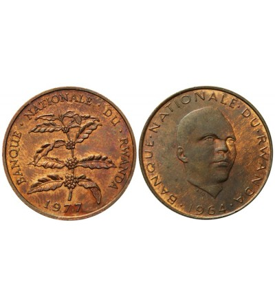 Rwanda 5 franków 1964 i 1977