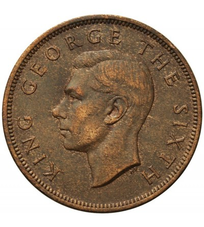 New Zealand One Penny 1950