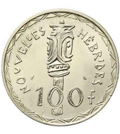 Nowe Hebrydy 100 franków 1966