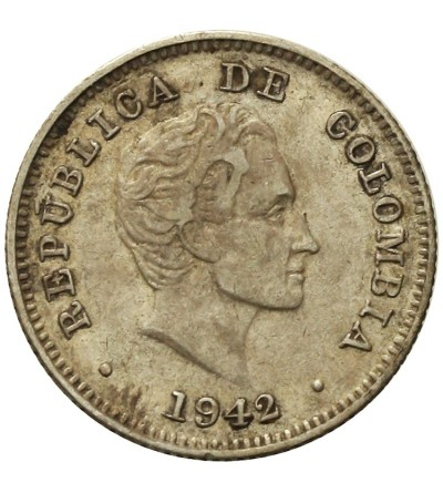 Columbia 10 Centavos 1942 B