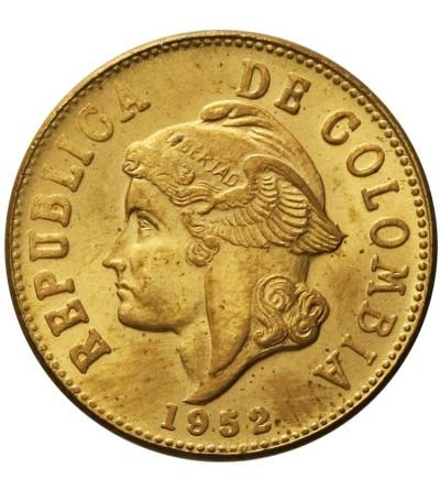 Colombia 2 Centavos 1952 B
