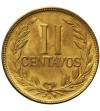 Kolumbia 2 centavos 1952 B