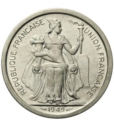 Nowa Kaledonia 2 franki 1949