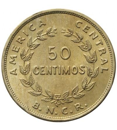 Kostaryka 50 centimos 1948