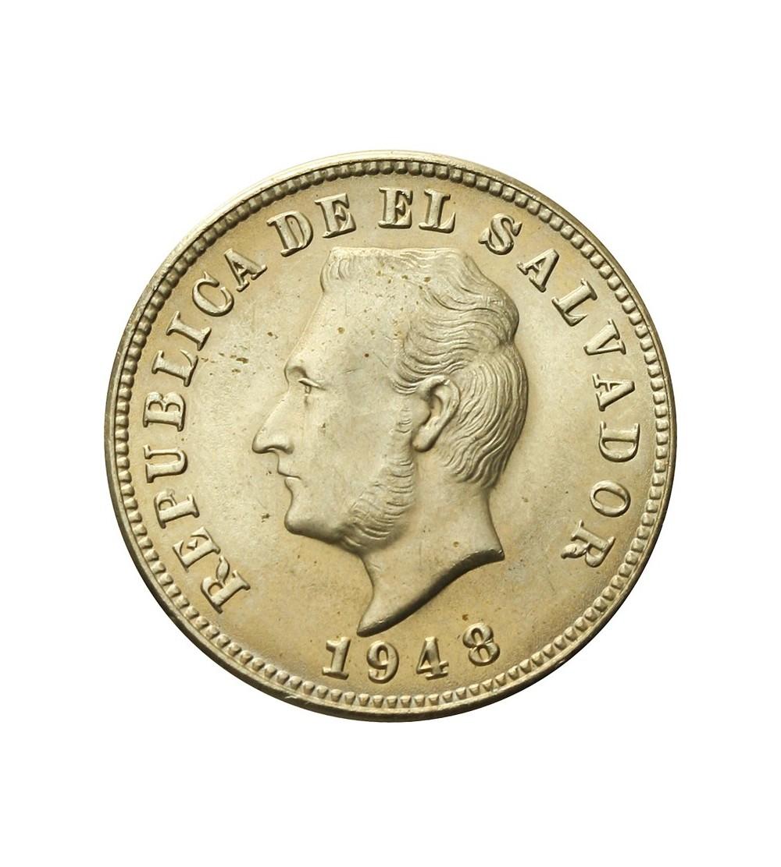 Salwador 5 centavos 1948