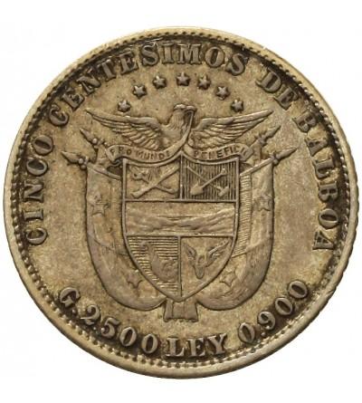 Panama 5 Centesimos 1904