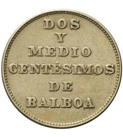 Panama 2 1/2 centesimos 1940