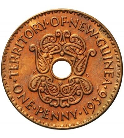 Nowa Gwinea 1 penny 1936