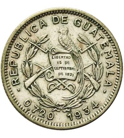 Guatemala 5 Centavos 1934