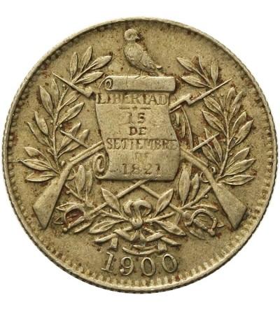 Gwatemala 1/2 reala 1900