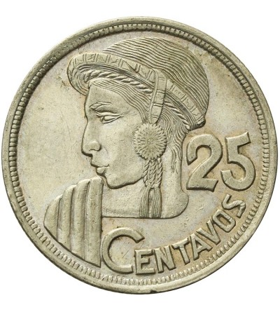 Gwatemala 25 centavos 1957