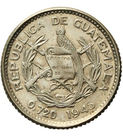 Gwatemala 5 Centavos 1945