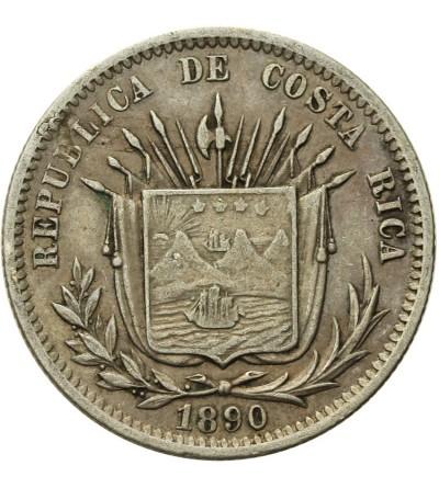Costa Rica 25 Centavos 1890