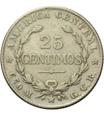 Kostaryka 25 Centimos 1924